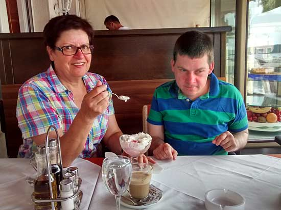Ein Eis mus sein - Rovinj in Kroatien