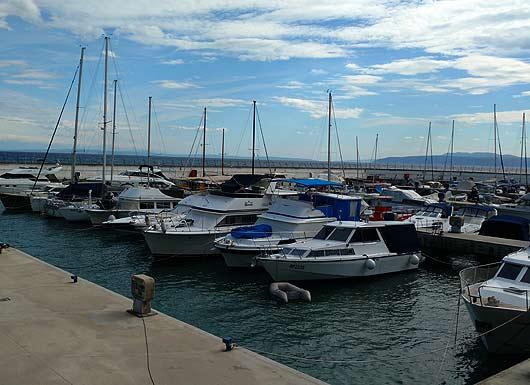 Yachthafen in Opatija